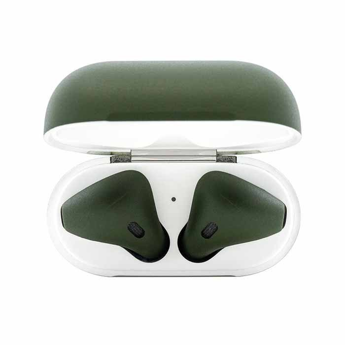 Switch Painted AirPods Army Matte