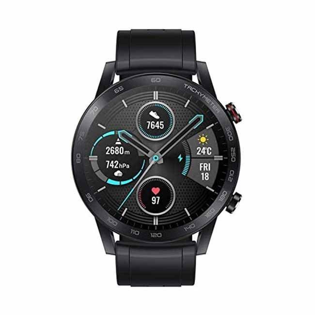 Honor Magic Watch Black,ساعة الشرف السحرية 2